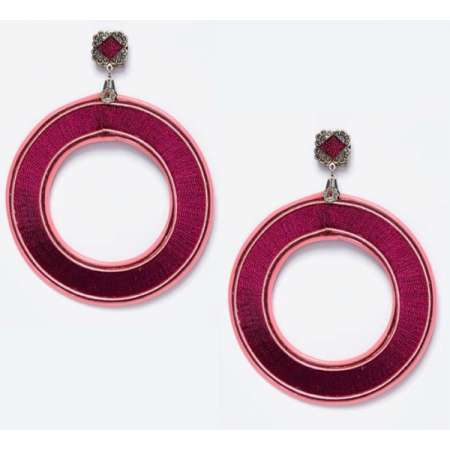 Bougainvillea Hoops